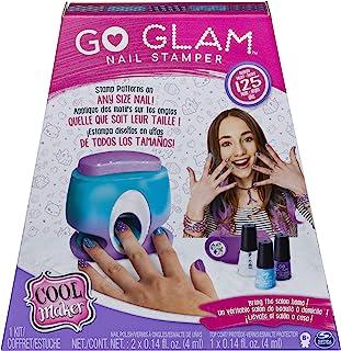 Cool Maker CLM ACK GoGlam NailStmpemerChnl VCHX GML - Kit de Uñas, Multicolor (6046941)