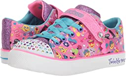 SKECHERS KIDS - Twinkle Breeze 2.0 10926L Lights (Little Kid/Big Kid)