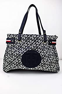 Tommy Hilfiger Women's Tote Bag, Navy Blue