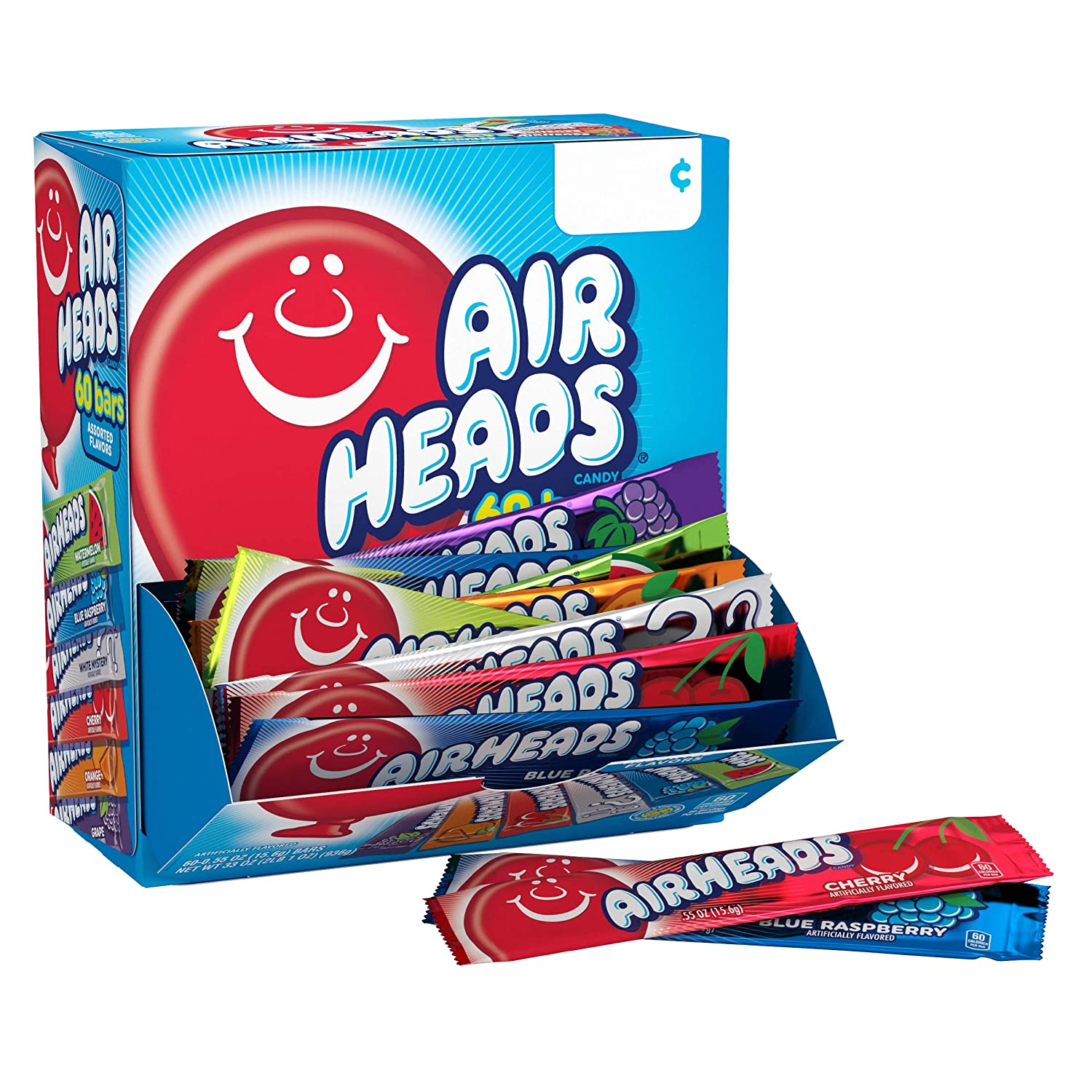 Airheads Candy Bars: 60 Count! As low as .78 at Amazon!