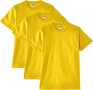 Fruit of the Loom T-Shirt (Pacco da 3) Uomo