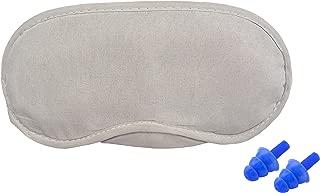 Urbankraft Combo Pack Sleeping Eye Mask And Ear Plugs For Noise Reduction