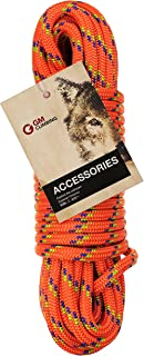 GM CLIMBING 5400lbf 10mm (3/8in) Double Braid Accessory Cord Rope for Prusik Hauling Dragging