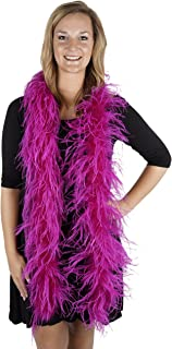Feathers - Ostrich Boas Solid Colors -TWOPLY - in Your Choice of Colors
