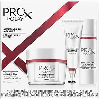 OLAY 玉兰油 抗皱套装 含有SPF 30的Pro-X乳液,抗衰老护理和抗皱霜