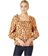 Kate Spade New York - Panthera Square Neck Top
