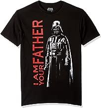 Star Wars Men's Darth Vader Father Short Sleeve T-Shirt