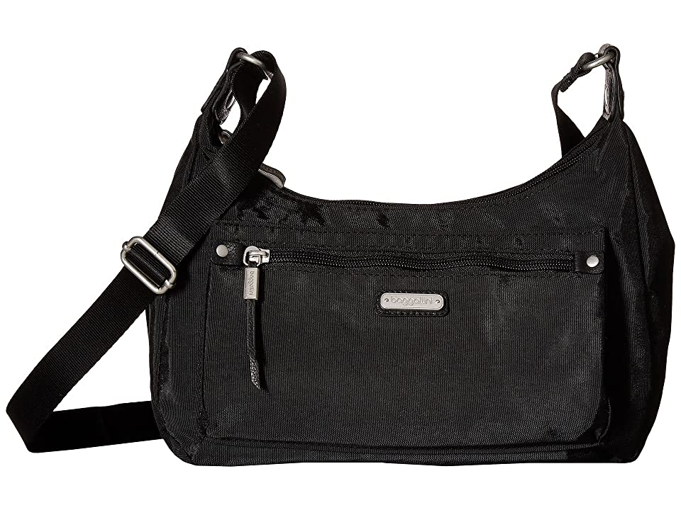 Baggallini New Classic Out and About Bagg with RFID Phone Wristlet (Black) Bags