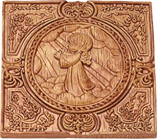 Precious Moments 179105 Praying Angel Faux Wood Resin Wall Plaque Prayer