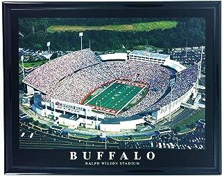NFL Framed Football Buffalo Bills Ralph Wilson Stadium Wall Art F7568A