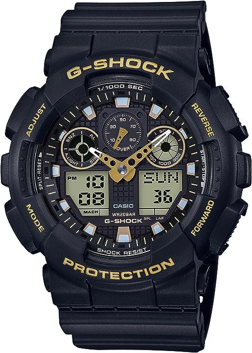 Orologio g-shock casio orologio analogico - digitale uomo GA-100GBX-1A9ER