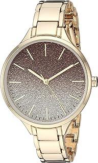 Nine West NW/2336OMGP - Reloj de pulsera para mujer, color dorado