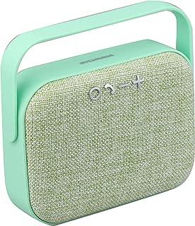 Portable Bluetooth Retro-Design Fabric Speaker (Mint)