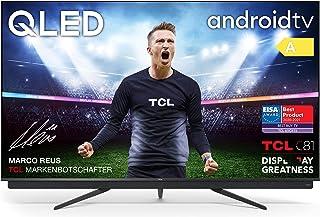 TCL 65C815 - Televisor 65 pulgadas QLED 4K UHD, Android TV, Barra de Sonido Onkyo, Micro Dimming Pro, Google Assistant, Co...