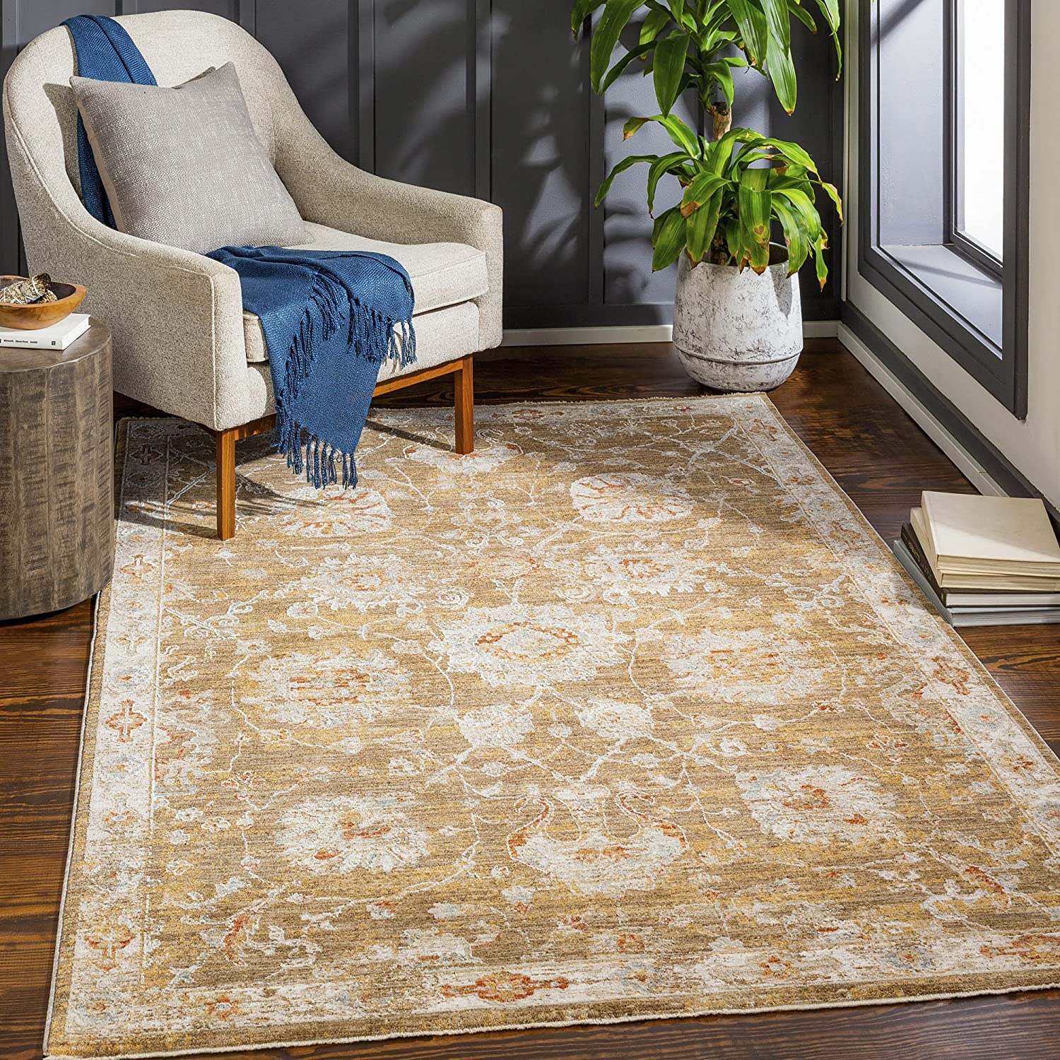 Artistic Weavers Arden Traditional Floral Rug Inventory cleanup Excellent selling sale 7'10