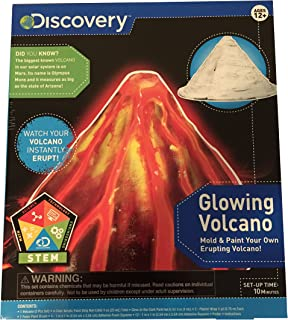 Glowing Volcano - Mold and Paint Kit by Discovery Kids