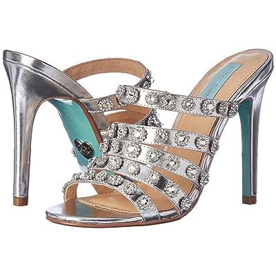 Betsey Johnson Jovi (Silver Metallic) High Heels