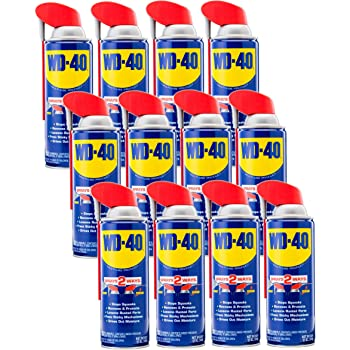 WD-40 - 490057CT Multi-Use Product with SMART STRAW SPRAYS 2 WAYS, 12 OZ (12-PACK)