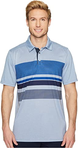 SKECHERS Performance - GO GOLF Slice Engineered Stripe Polo