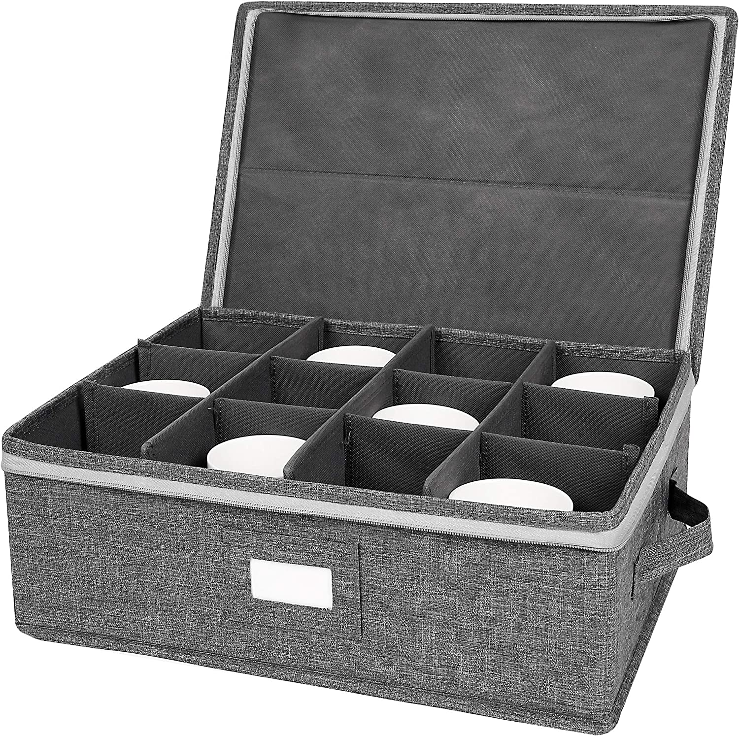 Coffee Cup Mug Storage Box Divider unisex Container with OFFicial Org Drinkware