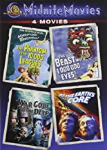 The Phantom from 10,000 Leagues / The Beast with 1,000,000 Eyes! / War Gods of the Deep / At the Earth's Core