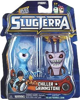 Slugterra Series 2 Chiller & Grimmstone Mini Figure 2-Pack by Animewild [Toy]