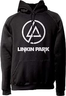 Sudadera rockera Linkin Park- con Classic Logo Blanco.