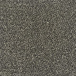 All American Carpet Tiles CAREFREE 23.5 x 23.5 Plush Easy to Install Do It Yourself Peel and Stick Carpet Tile Squares – 9 Tiles Per Carton – 34.52 Square Feet Per Carton (Chocolate chip)