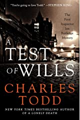 A Test of Wills: The First Inspector Ian Rutledge Mystery Kindle Edition