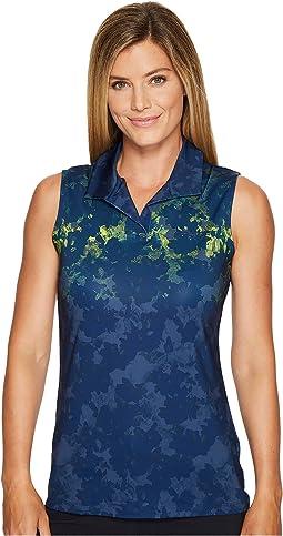 PUMA Golf - Floral Sleeveless Polo