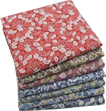 iNee Bloom Fat Quarters Quilting Fabric Bundles, Sewing Quilting Fabric, 18 x 22 inches,(Bloom)
