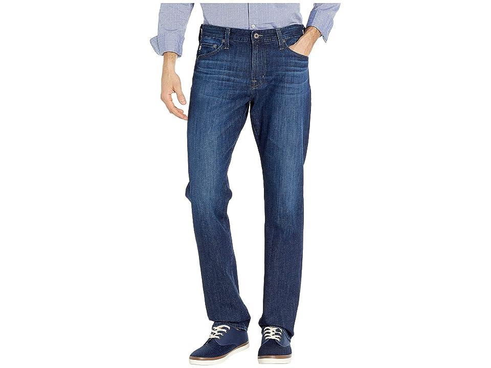 Image of AG Adriano Goldschmied Everett Slim Straight Leg Denim Jeans in Gamma (Gamma) Men's Jeans