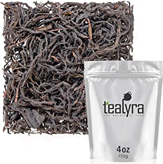 Tealyra - Assam Black Beauty #8 - Taiwanese Black Loose Leaf Tea - From Sun Moon Lake in Nantou County in Taiwan - Smooth and Rich - Caffeine Bold - Naturally Processed - 110g (4-ounce)