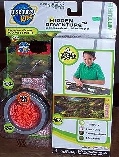 Discovery Kids Hidden Adventure Cretaceous Puzzle 4-in-1