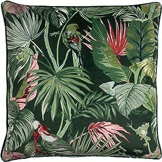furn. Amazon Creatures Cushion Cover, Jade, 50 x 50cm