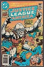 JUSTICE LEAGUE of AMERICA #196 DC comic book 11 1981