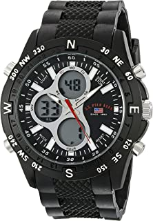 Sport Men's US9140 Sport Watch with Black Rubber Band