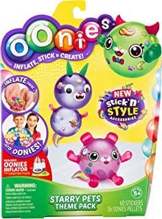 Oonies S4 REG Theme Refill PK - Starry Pets