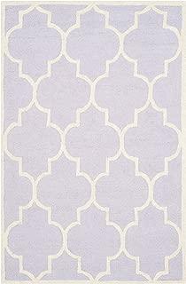 Safavieh CAM134C-4 Area Rug, 4' x 6', Lavender/Ivory