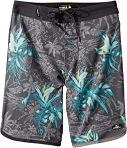 O'Neill Kids - Hyperfreak Islander Superfreak Boardshorts (Big Kids)