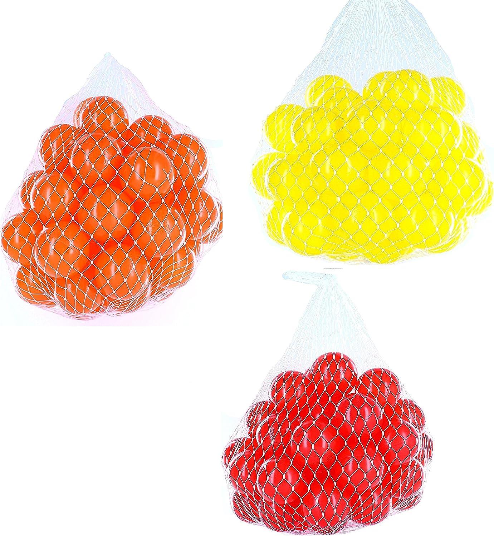 el precio más bajo Pelotas para pelotas baño variadas Mix con rojo, rojo, rojo, amarillo y naranja Talla 2100 Stück  en stock