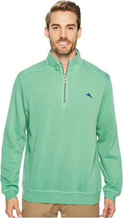 Tommy Bahama - Nassau 1/2 Zip Long Sleeve Knit Shirt