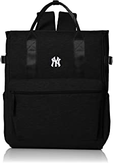 [MAJERRYG棒球]背包 背包 包包 包 吸汗 吸汗 帆布背包 蛙口 yan New York 女士 男士 中性 男女通用 时尚 大容量 上学 成人 上班 旅行 YK-MBBK108