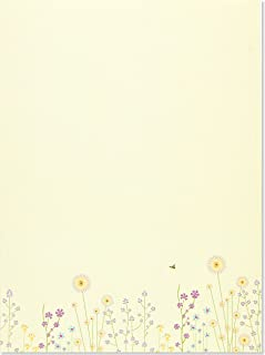Sparkly Garden (Stationery) (Letter-Perfect Stationery)
