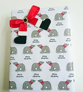 Father Christmas/Santa Boots, Ribbon Gift Bows, Present