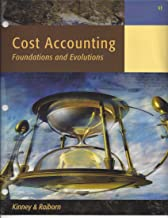 BNDL: ACP COST ACCOUNTING, 9th Edition Looseleaf with CengageNOW Printed Access Card for Kinney/Raiborn's Cost Accounting: Foundations and Evolutions, 9th