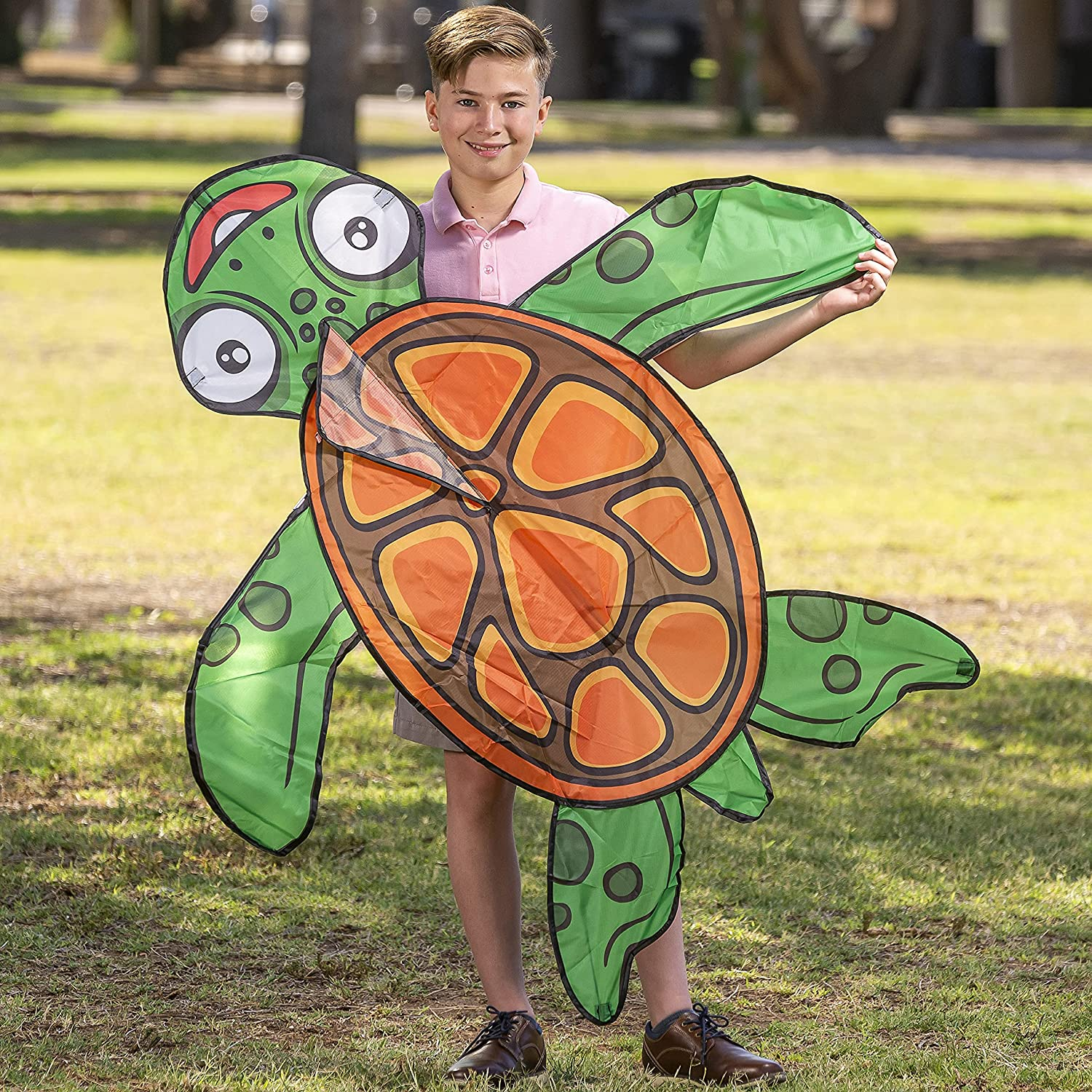 JOYIN Turtle Kite Easy Max 46% Max 54% OFF OFF to Fly Huge and Adults wit for Kids Kites