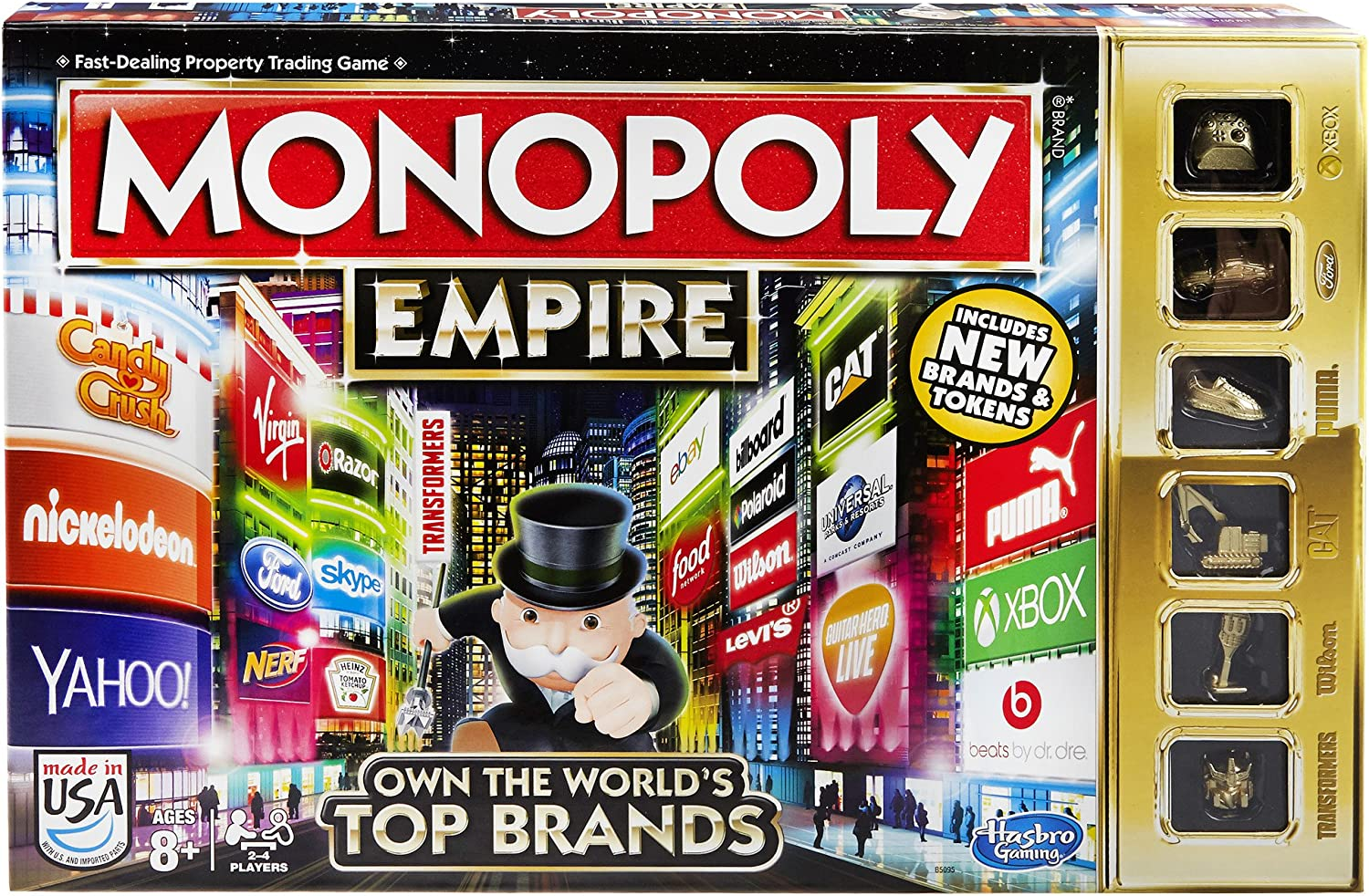 Hasbro B5095 Monopoly Empire Game Toy