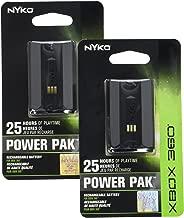Nyko 2 Xbox 360 Power Pak - Black - Xbox 360;