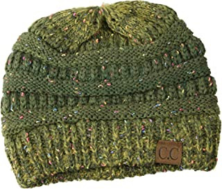 Shadana's Collection CC Womens Warm Confetti Chunky Ombre Knit Beanie Hat Cap